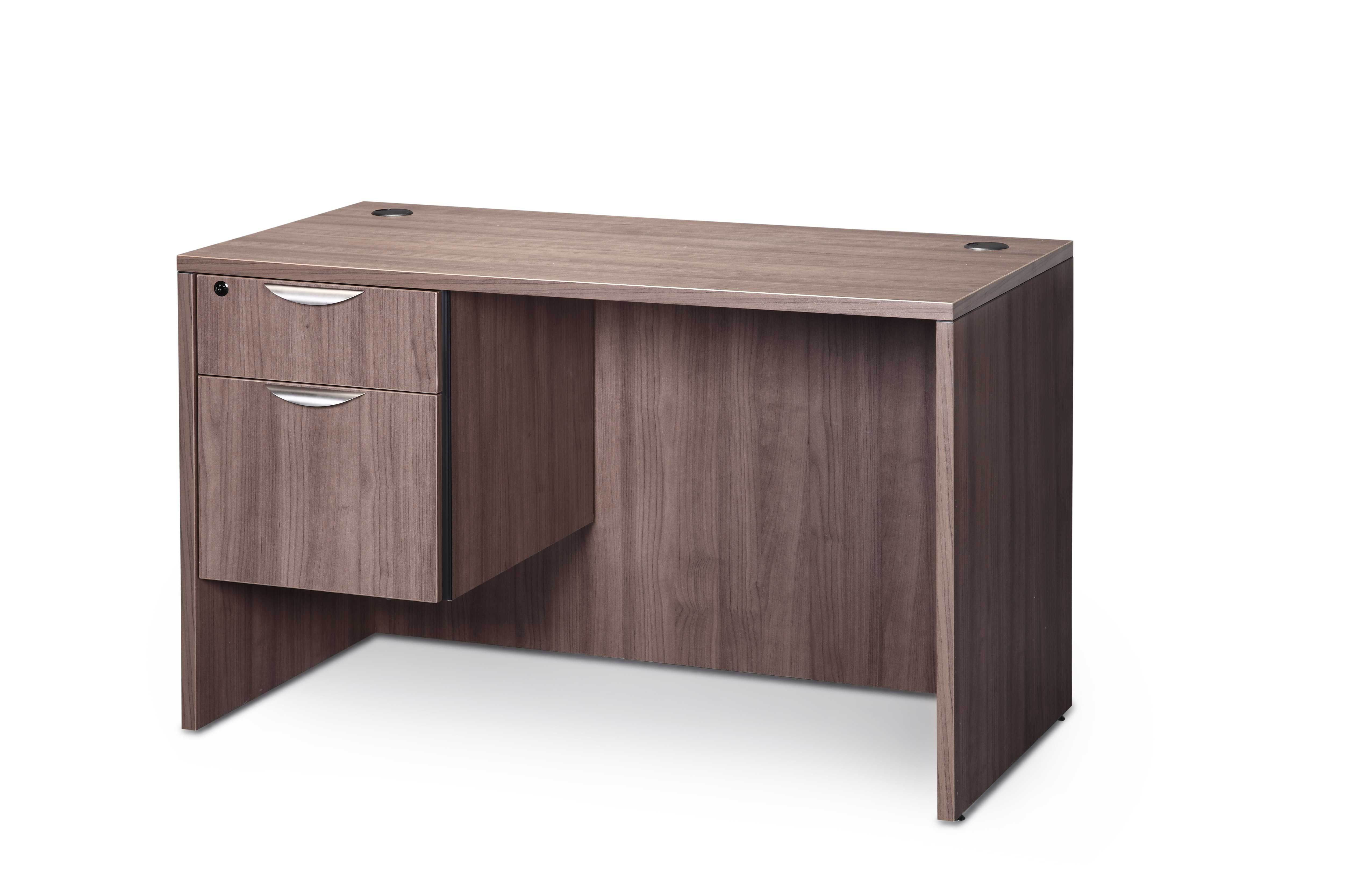 Harmony 30x60 Desk with pedestal