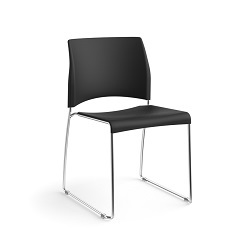 Nimble Stack Chair - Black
