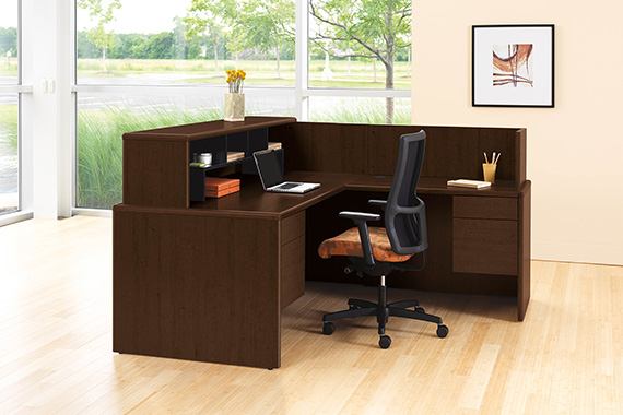 HON 10700 Reception Desk