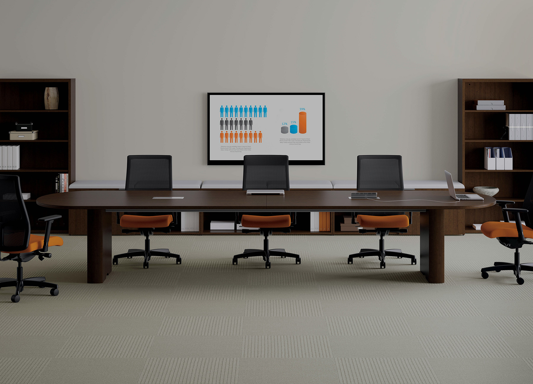 Business Furniture Warehouse New Office Furniture - Hon preside table